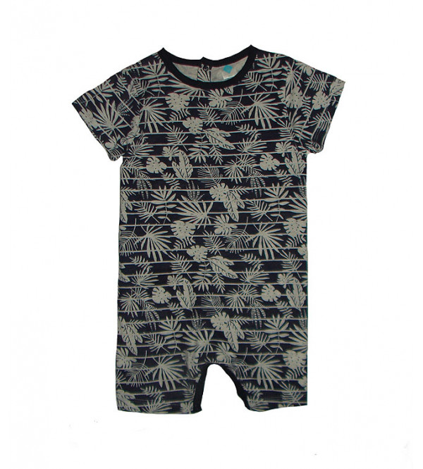 Baby Boys Printed Playsuits