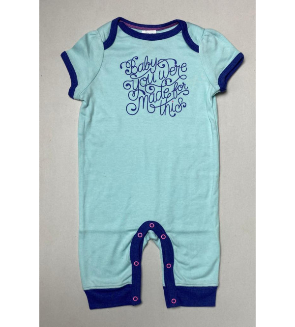 Baby Girls Printed Playsuits