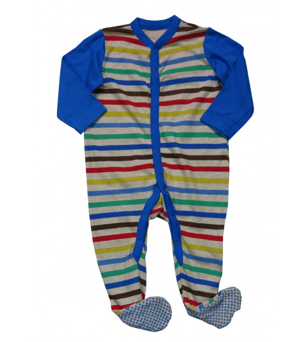 'New Born' Baby Sleepsuits Assorted