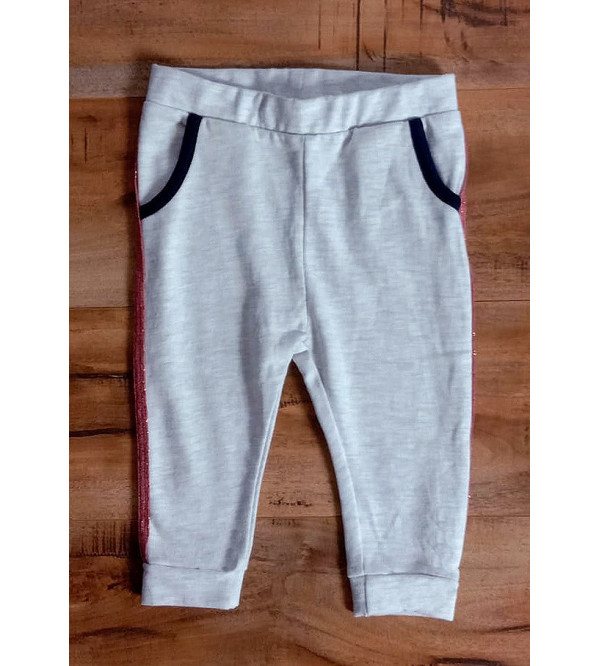 Baby Girls Knit French Terry Jogger