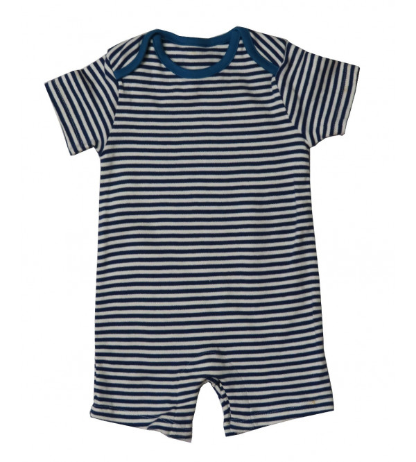 Striped Baby Boys Playsuit