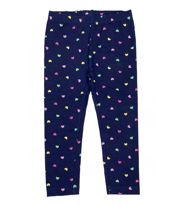 Baby Girls Printed Stretch Leggings
