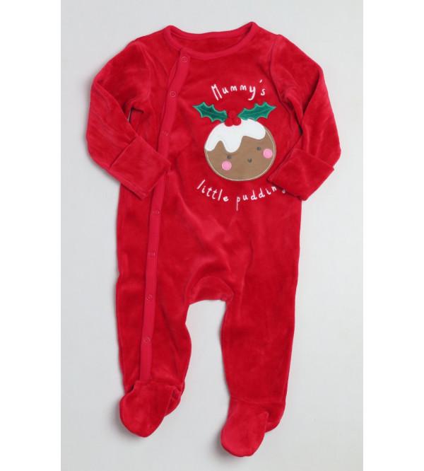 X-Mas Baby Printed Sleepsuits