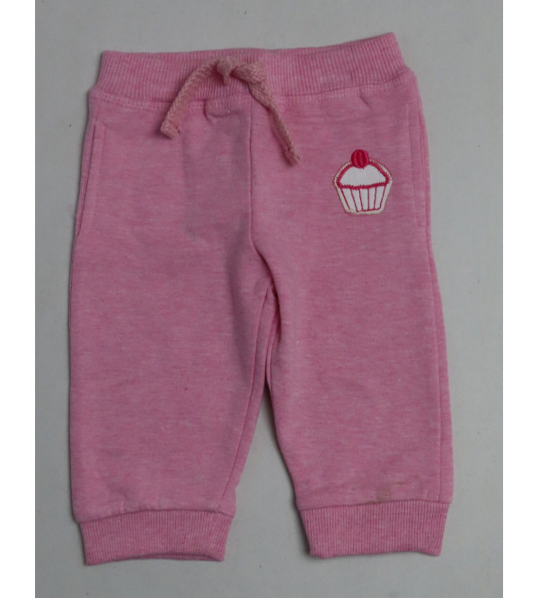 Baby Girls Knit Fleece Jogger