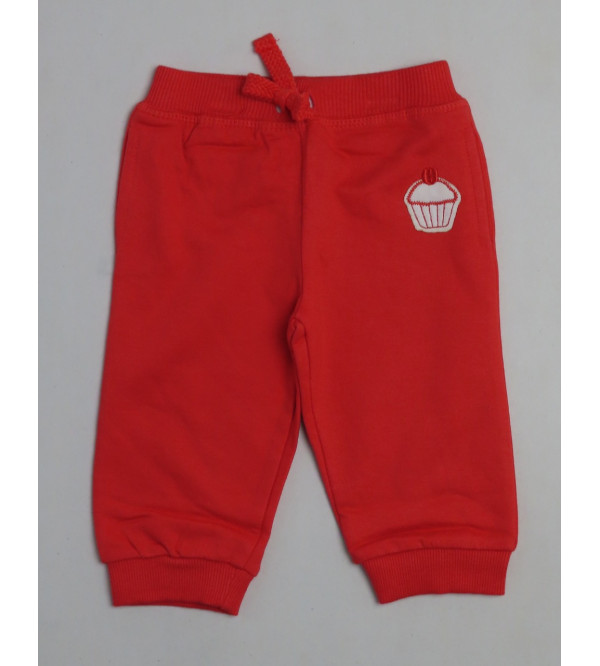 Baby Girls Knit Fleece Joggers
