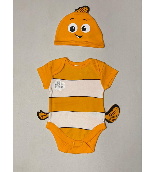 Disney Finding Nemo Bodysuit and Hat Outfit