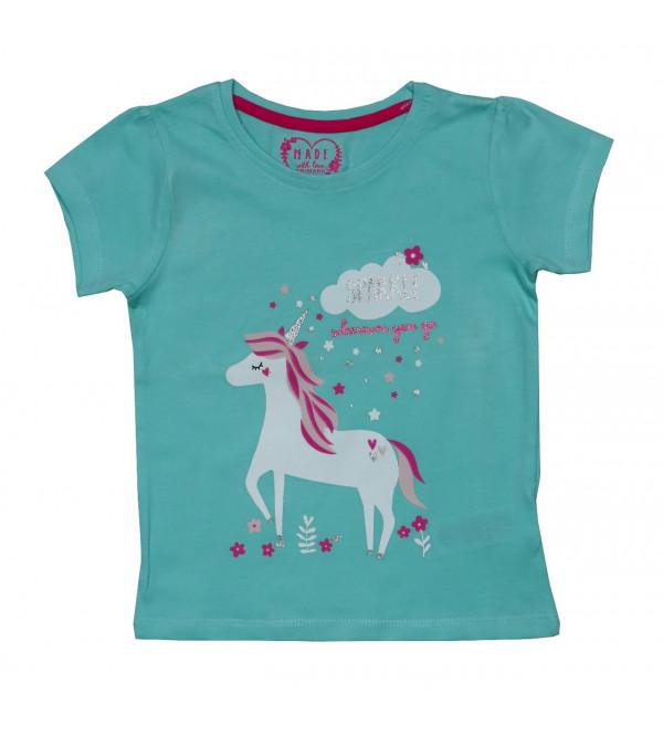 Baby Girls Printed T Shirt