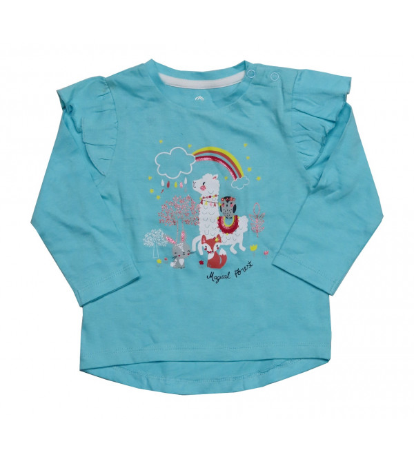 Baby Girls Printed T Shirt