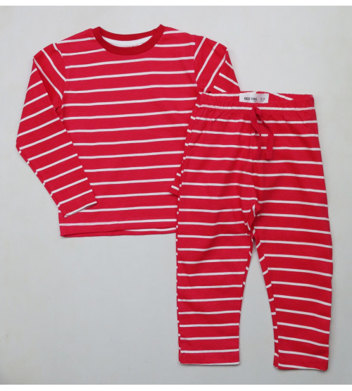Baby Boys Striped Pyjama Sets