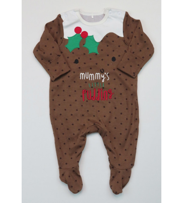 Baby Applique n Printed Sleepsuits