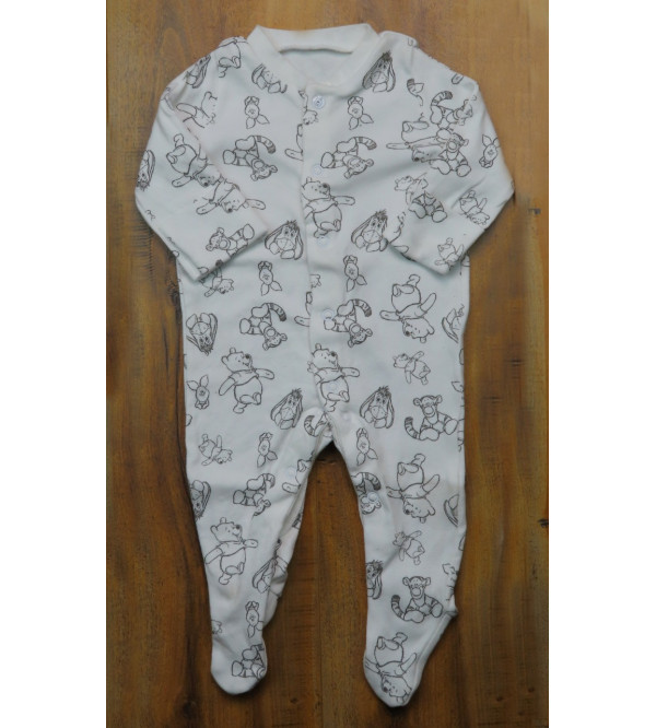 Character Printed Baby Sleepsuits