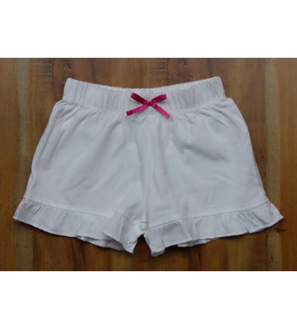 Baby Girls Printed Knit Shorts