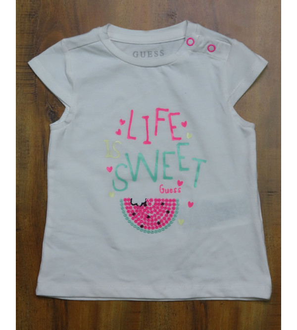 Guess Baby Girls Sequined T Shirt