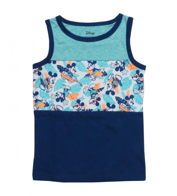 Mickey Mouse Baby Boys Muscle Tee