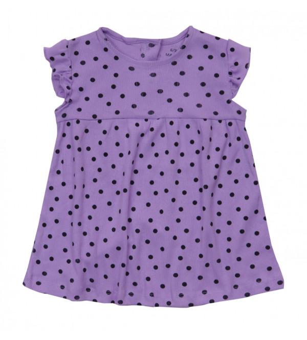 Polka Dot Printed Baby Girls  Dress