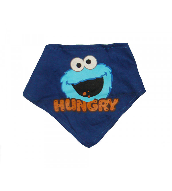 Monster Printed Baby Bibs (Two Ply)