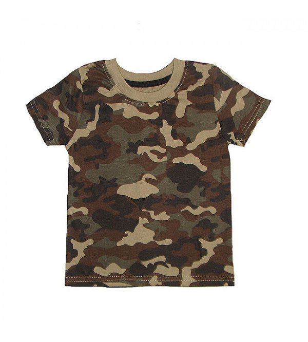 Camo Print Baby Boys T Shirt