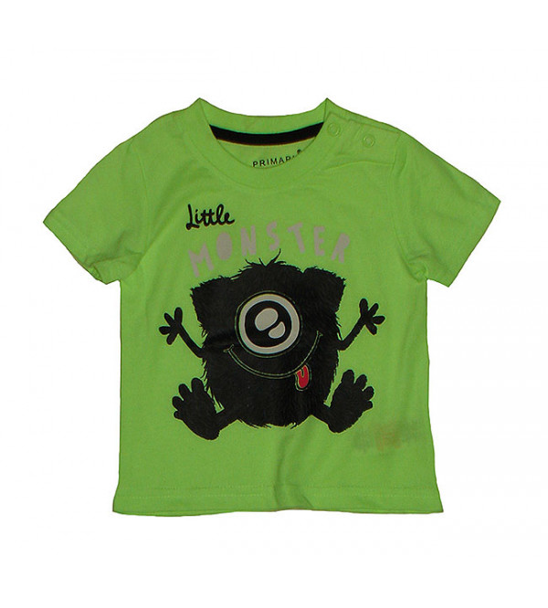 Monster Print Baby Boys T Shirt