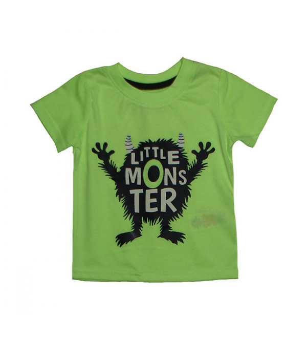 Monster Print Baby Boys T Shirt