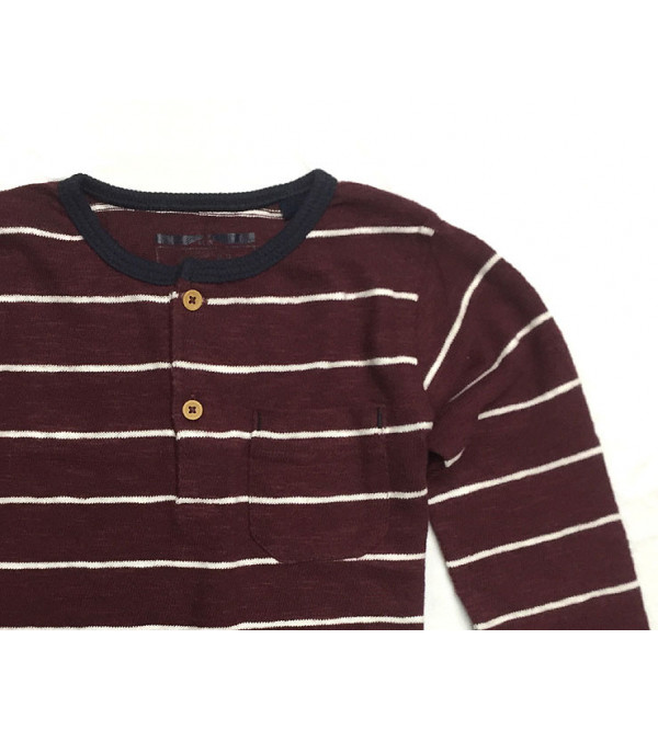 Boys Striped Knit Sweater