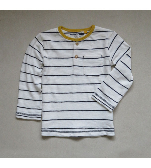 Boys Striped Knit Sweaters