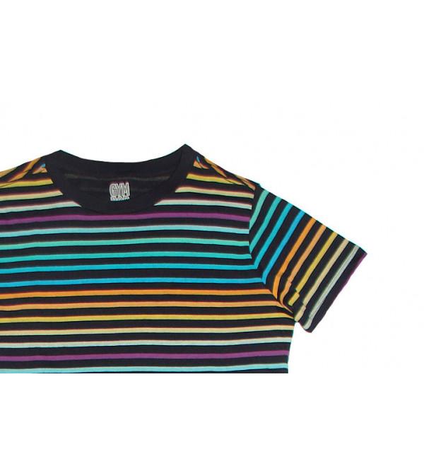 Multi Striped Boys T Shirt