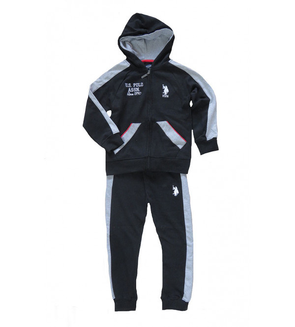 U S POLO ASSN Boys Outerwear Jogging Set