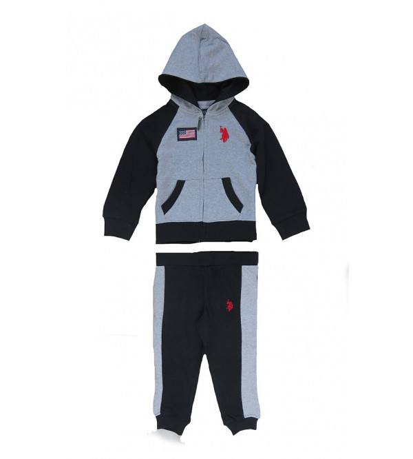 U S POLO ASSN Baby Boys Outerwear Jogging Set