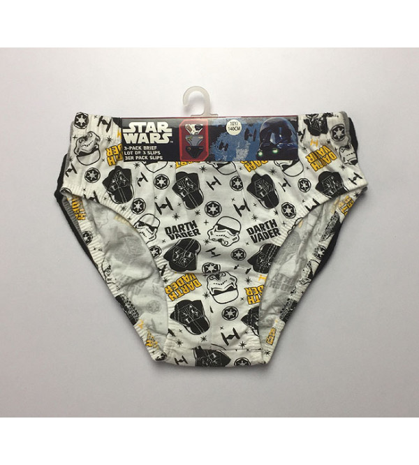 STAR WARS Boys Briefs 3 pcs Pack