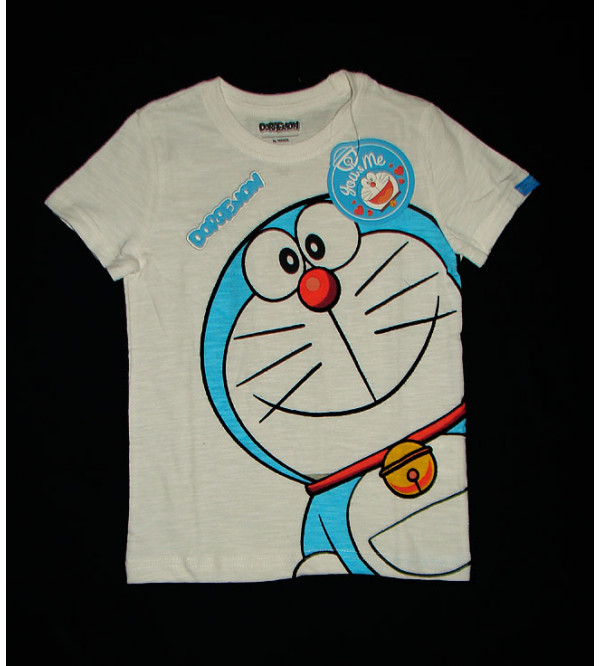 DOREMON Boys Printed T Shirt