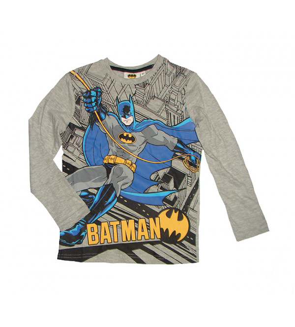 BATMAN Boys Long Sleeve T Shirt