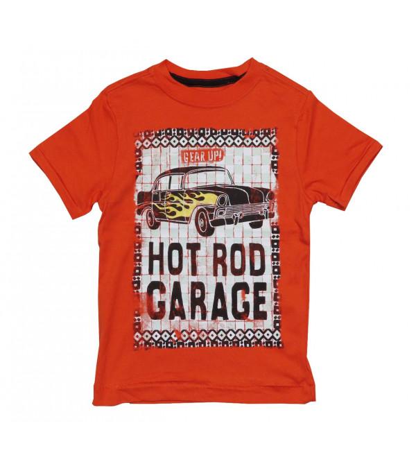 Boys Printed T Shirt