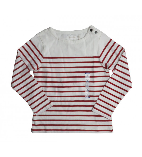 Boys and Girls Striped T Shirt