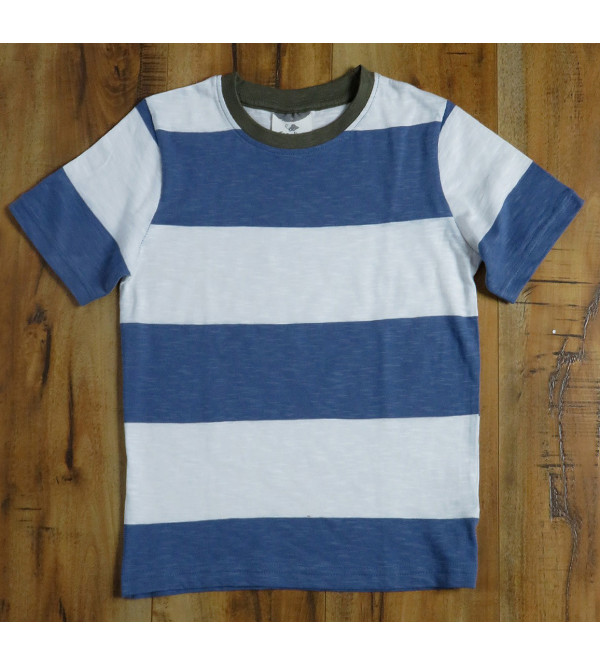 Boys Rugby Striped T Shirts