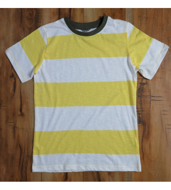 Older Boys Rugby Striped T Shirt