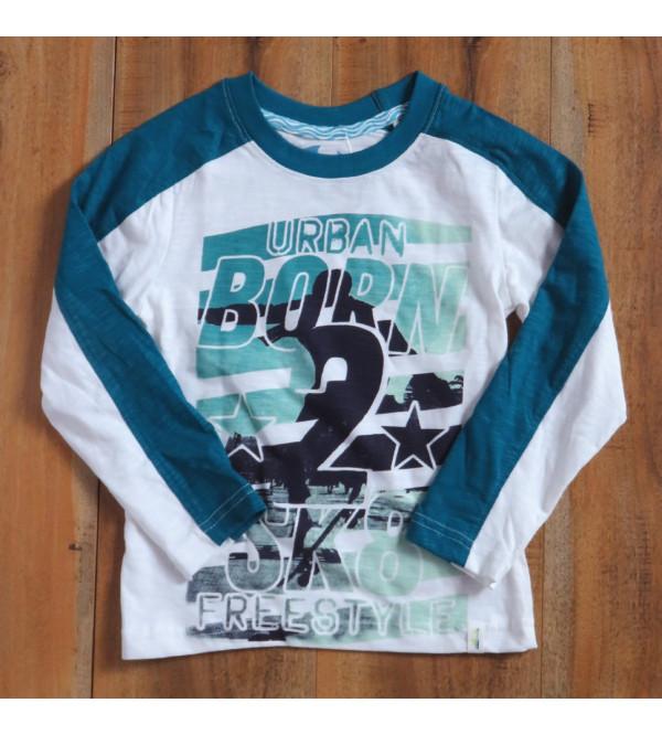 Boys Long Sleeve Printed T Shirts