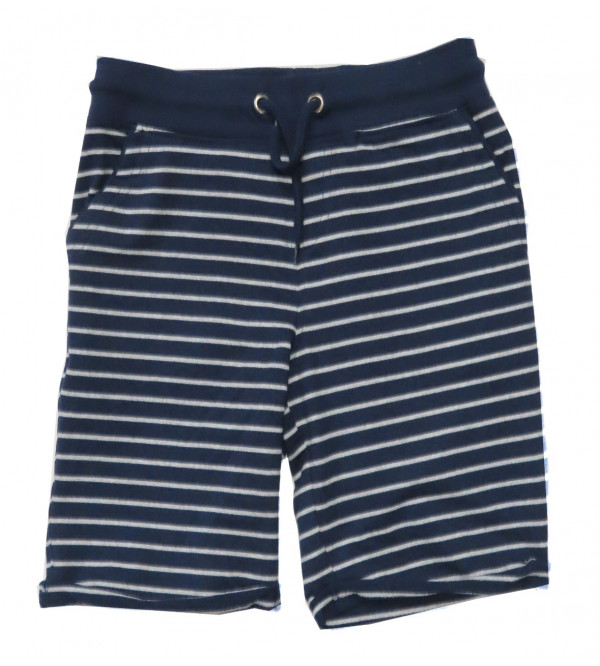 Boys French Terry Striped Shorts