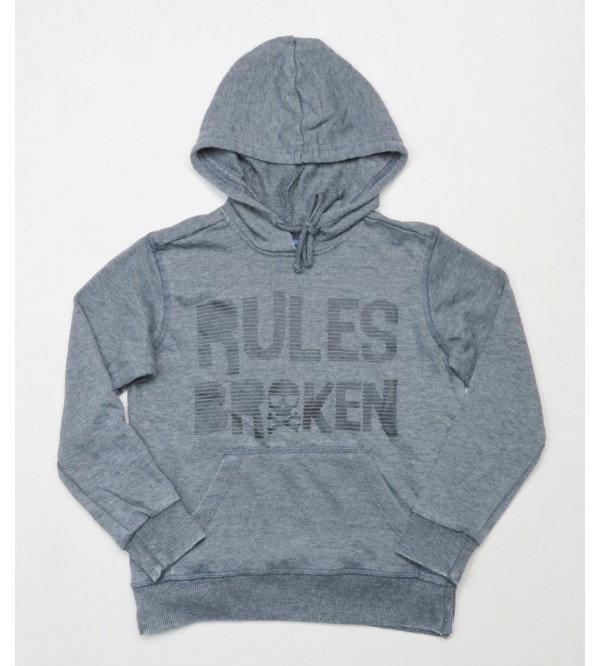 Boys Pullover Sweatshirt With Hoodie
