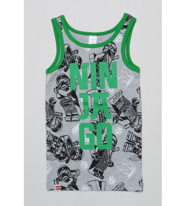Ninja Boys Muscle T Shirt
