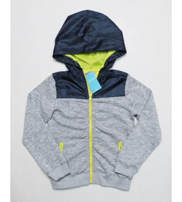 Older Boys Hooded Full Zipper Sweatshirt
