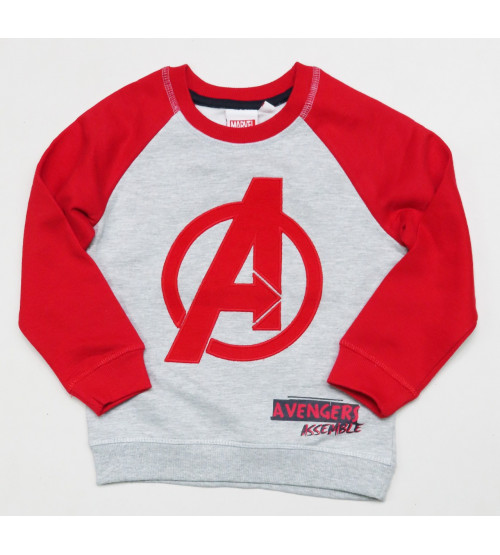 Avengers Boys Pullover Sweatshirt With Applique