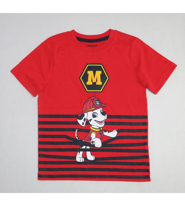 PAW PATROL Boys Printed T Shirt