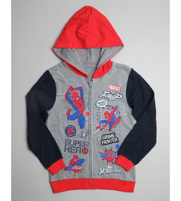 Spiderman Boys Fleece Sweatshirt
