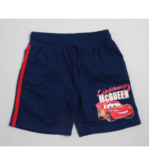 Cars Boys French Terry Knit Shorts