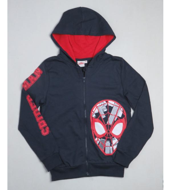Spiderman Boys Full Zipper Sweatshirt