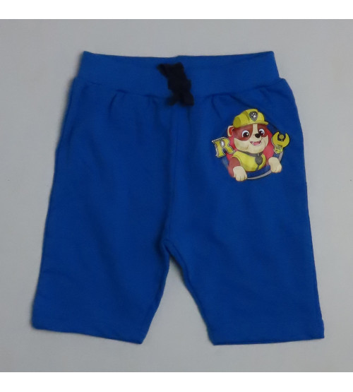 Paw Patrol Printed Boys French Terry Knit Shorts