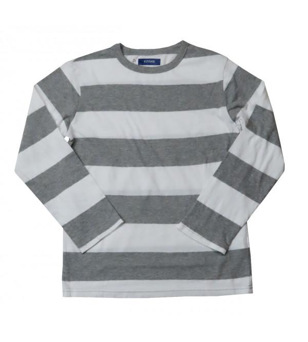 Boys Long Sleeve Striped T Shirt