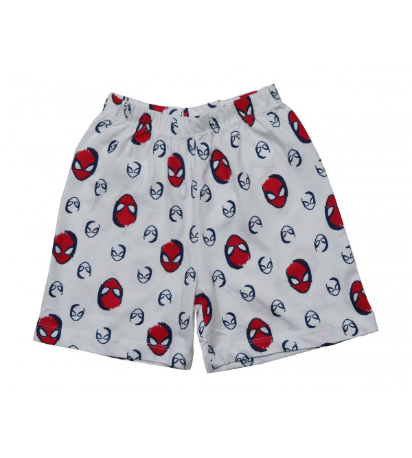 SPIDEMAN Printed Boys Nightwear Shorts