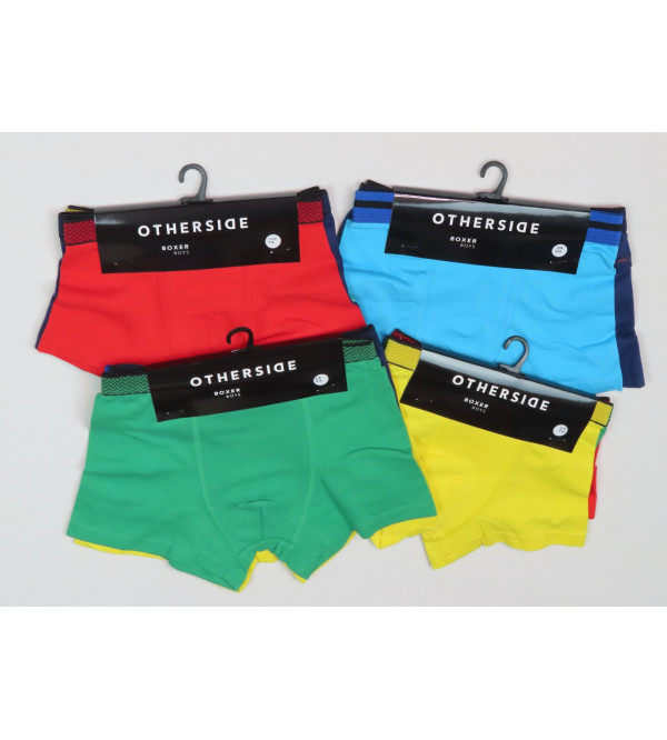 BOYS STRETCH 3 PC PACK BOXERS