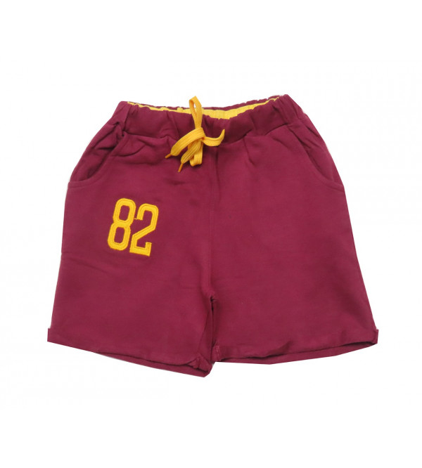 Boys French Terry Roll Up Shorts
